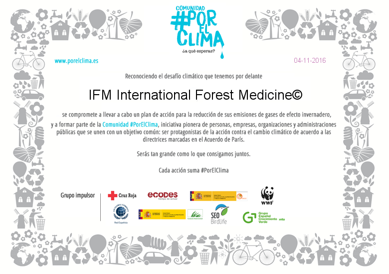 IFM Interantional Forest Medicine Logo